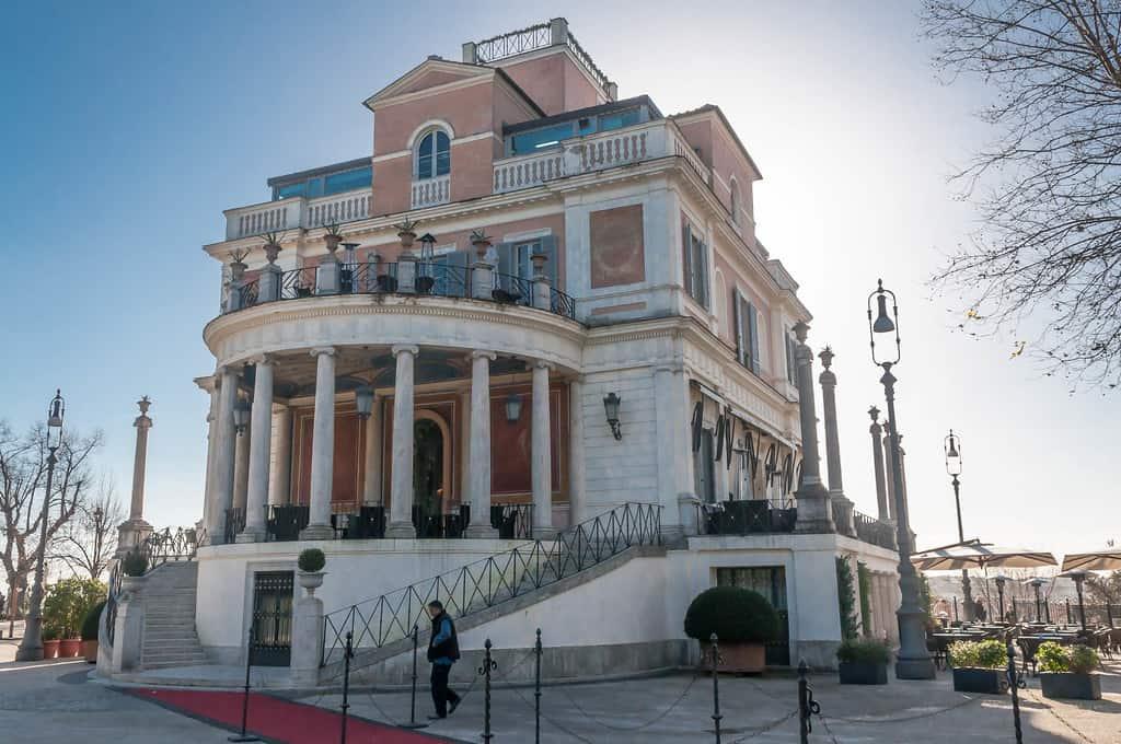 Casina Valadier Villa Borghese