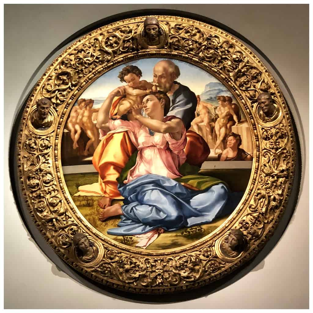 The Holy Family by Michelangelo