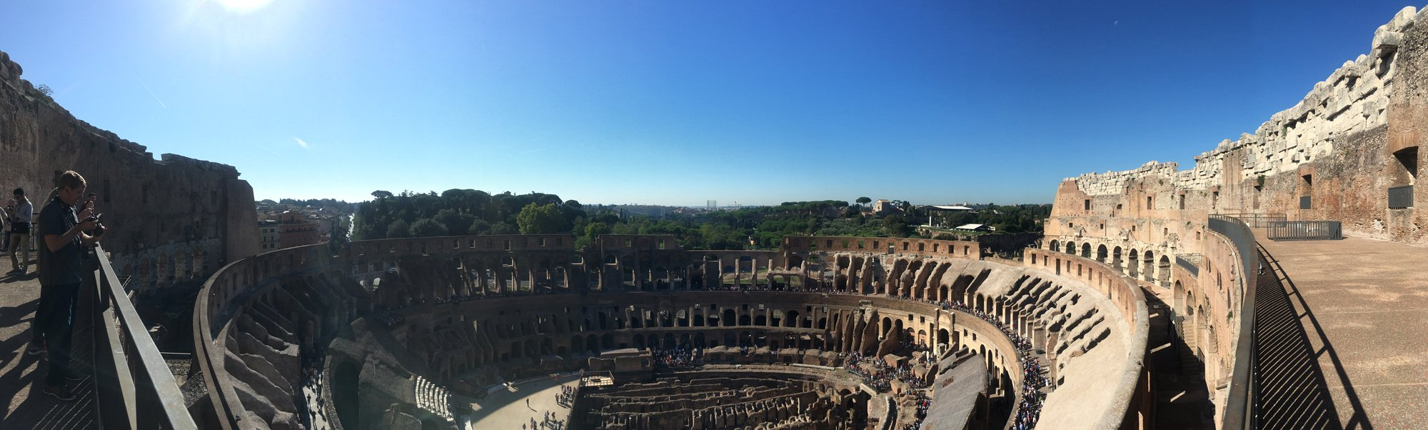 Colosseum Belvedere Panoramic views