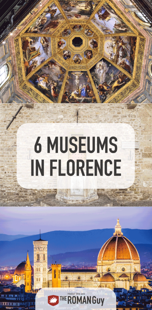 6 INCREDIBLE Florence Museums to Visit that Are Not the Uffizi | The Roman Guy Italy Tours