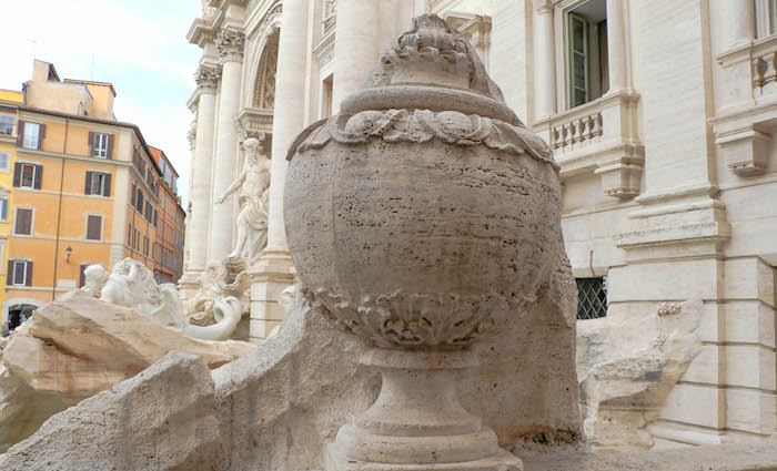 Ace of Cups Trevi Fountain Rome