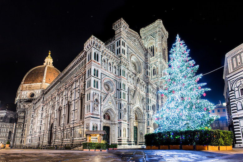 Christmas in Florence Italy