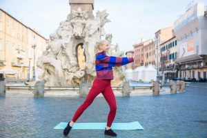 travel fit and healthy in rome with Anastasiya