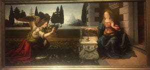 Uffizi Gallery in Florence - Annunciation