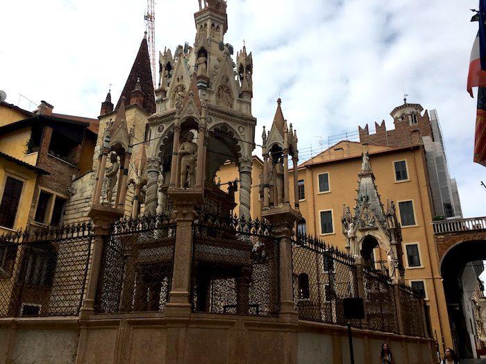 Arche Scaligere in Verona, Italy