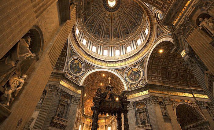 Baldacchino St Peter's Basilica