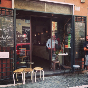 Places to relax in Rome - Barnum Cafe