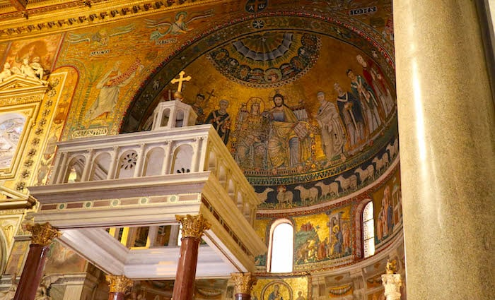 Basilica of Santa Maria Trastevere Things to do