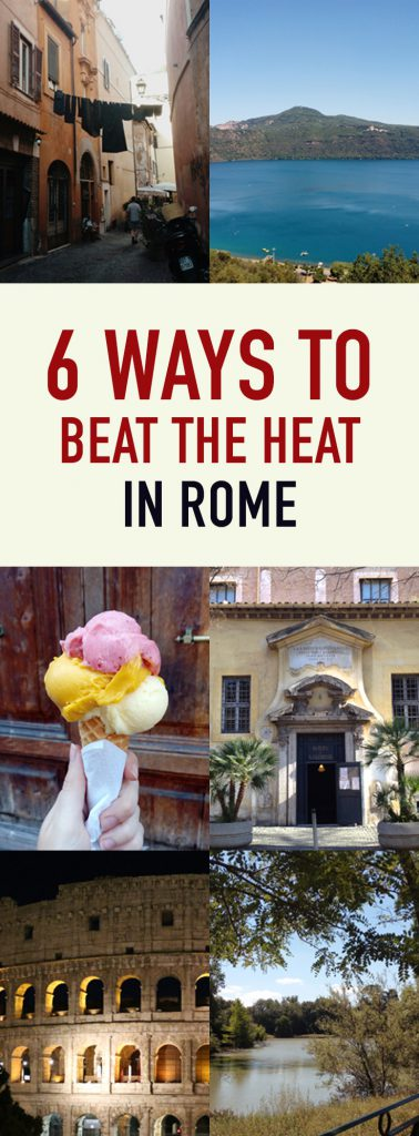 how to stay cool in rome