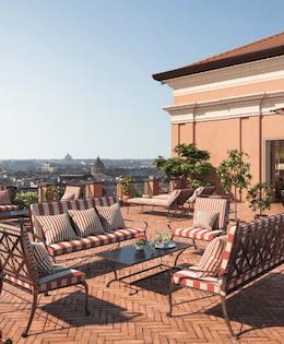 Best Hotels in Rome Hotel Ville