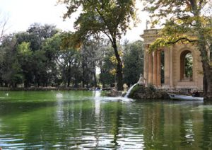 Traveling with children - Villa Borghese