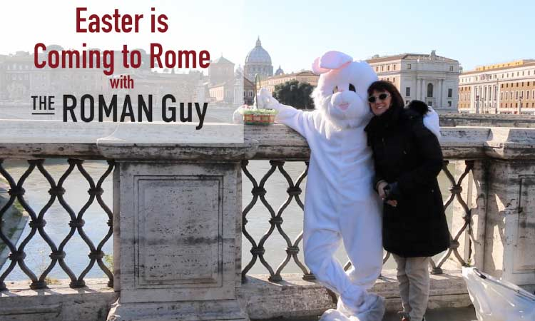 Bunny Bridge easter in Rome italy