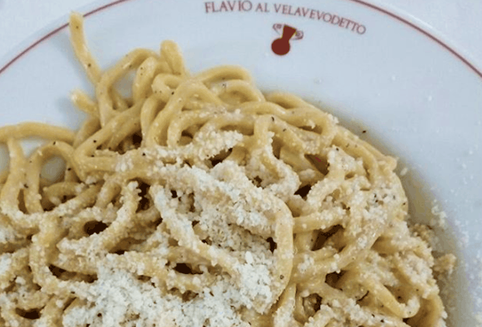 Cacio e Pepe Flavio Velavevodetto The Roman Guy Food Tours