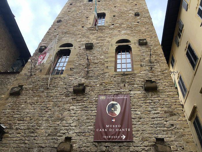Casa di Dante exterior