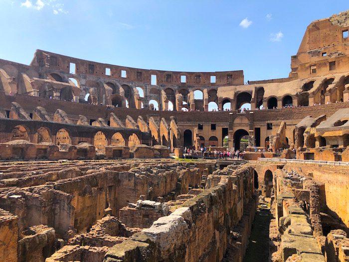 Colosseum Arena Floor Tour