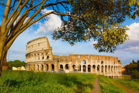 Roman Colosseum exterior