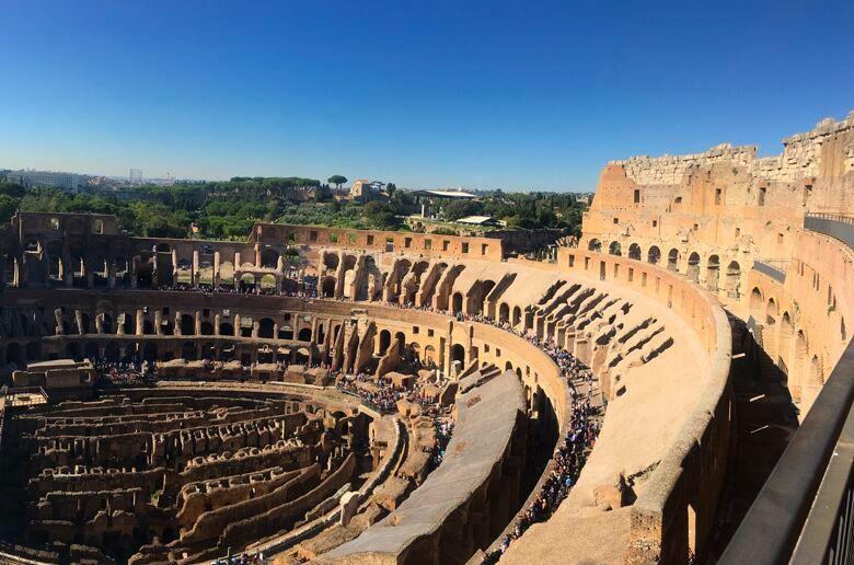 Colosseum Top Levels