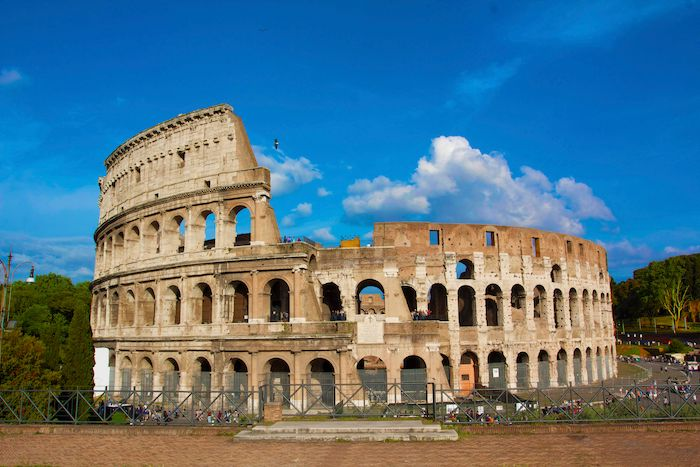 Colosseum after Earthquake