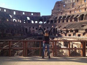 Colosseum arena floor express tour