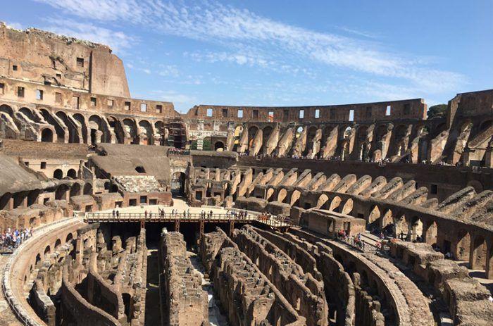 Roman Colosseum Underground