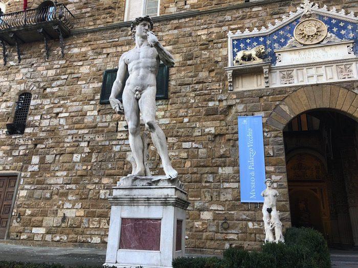 The David Piazza della Signoria