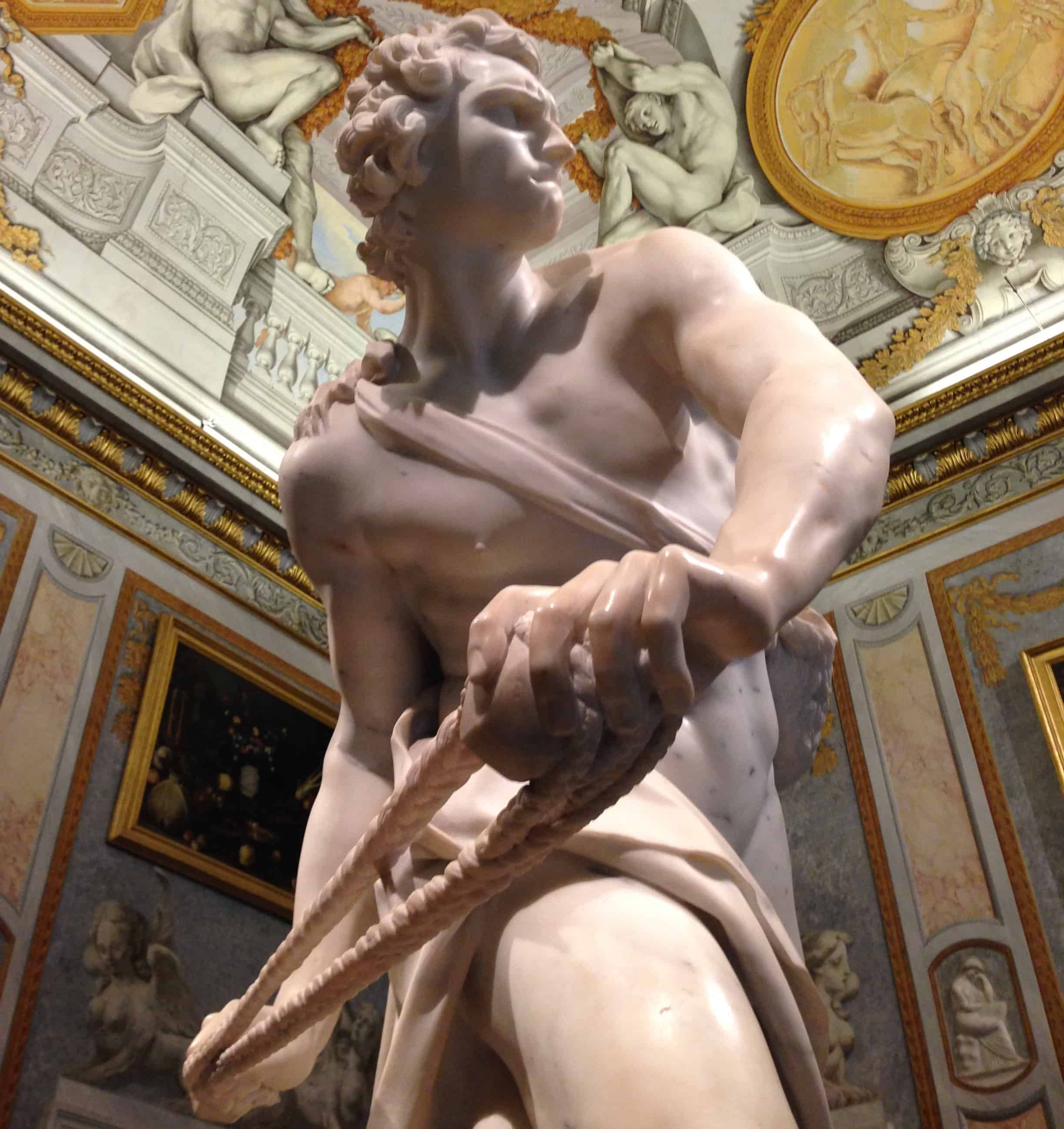 David by Bernini Borghese Gallery
