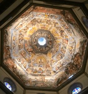 Duomo Inside Dome Florence