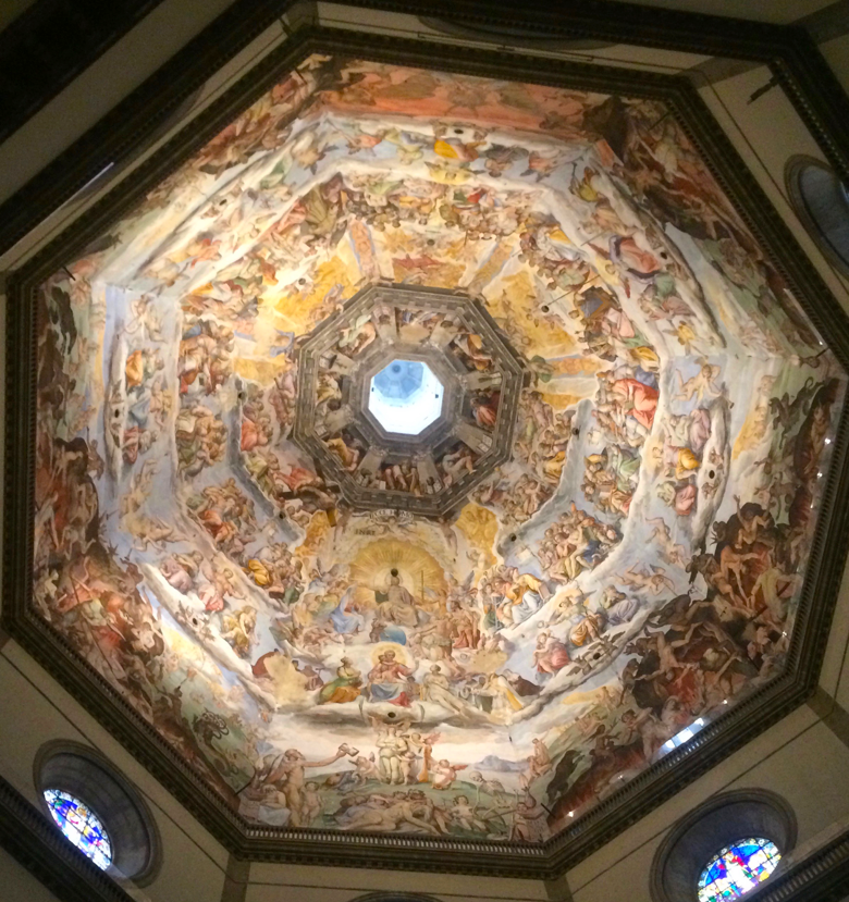Duomo Inside Dome Florence
