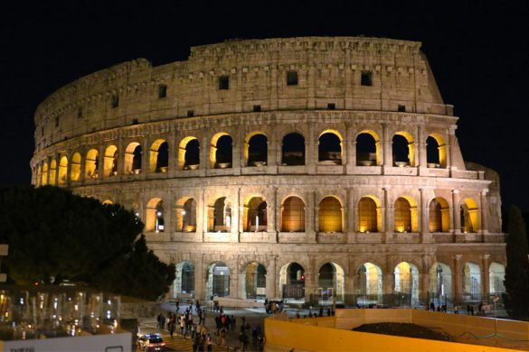 Colosseum night tour