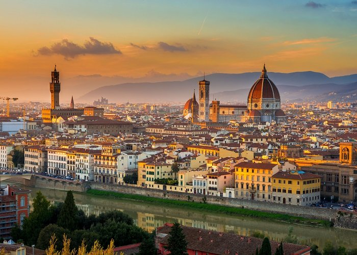 Florence Duomo and skyline from Piazzale Michelangelo