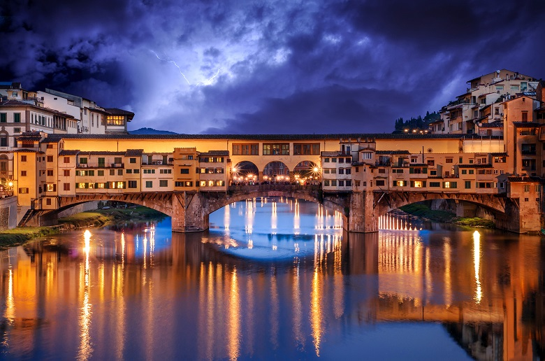 History of Ponte Vecchio in Florence
