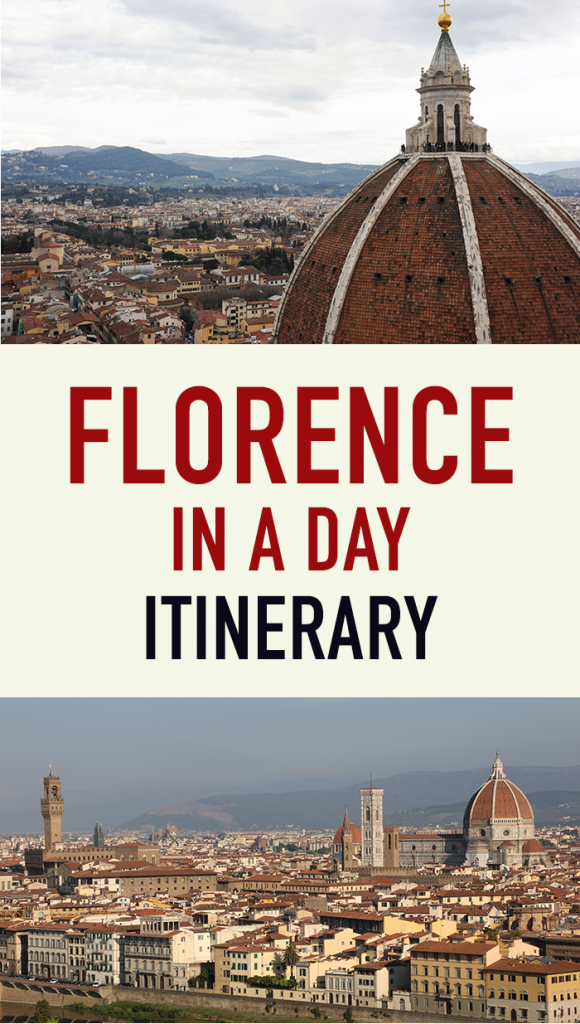 How to see Florence in a day with itinerary