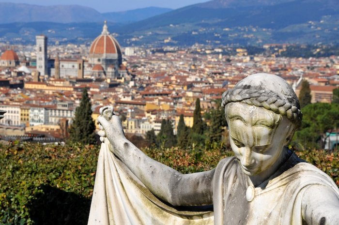 Florence, statue