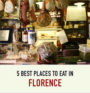 5 Best Places To Eat in Florence: Avoid the tourist traps and try some of the cities best food at these top 5 restaurants.
