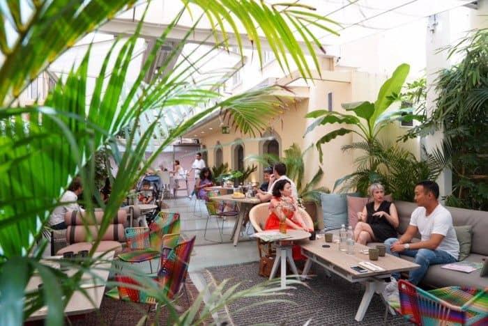 Cafe Floret - photo credit arttrav.com