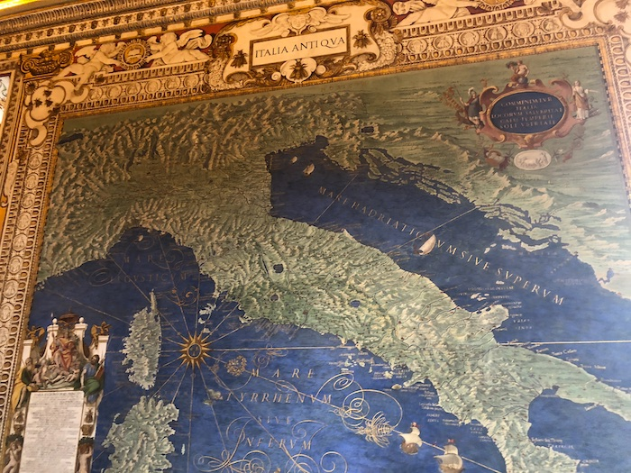 gallery of maps italy