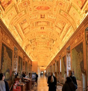Vatican Museum Tour - gallery of maps