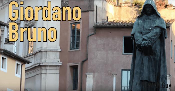 Giordano Bruno Statue in Campo de' Fiori