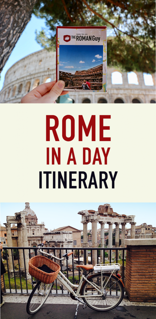 How to see Rome in a day with a downloadable pdf itinerary