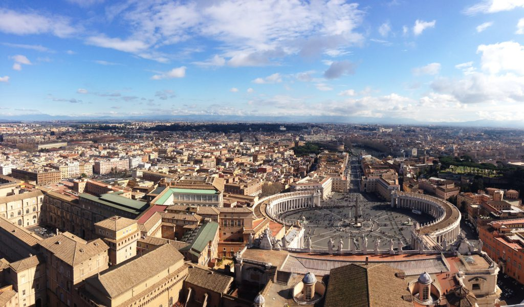 Panoramic Views from St Peter's Dome