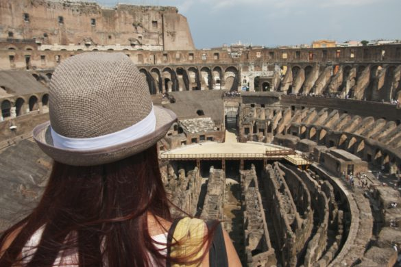 Visit the Colosseum - View of the Arena Floor