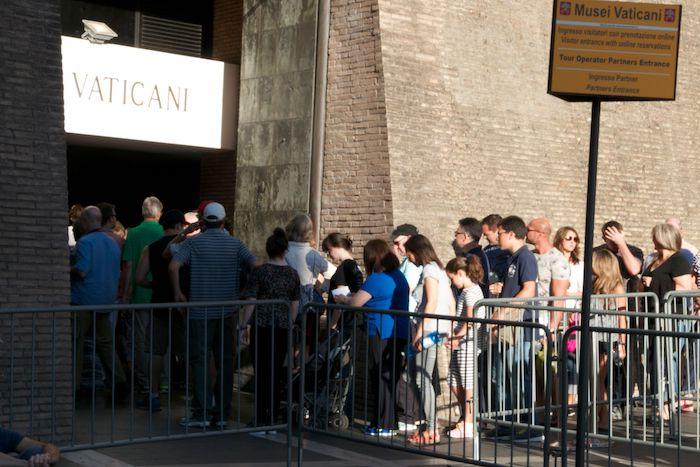 Individual Line Vatican