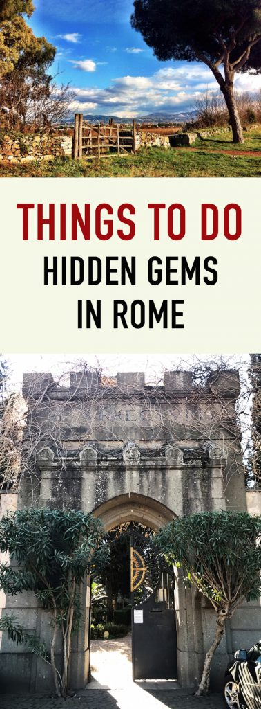 Hidden Gems Things to Do in Rome
