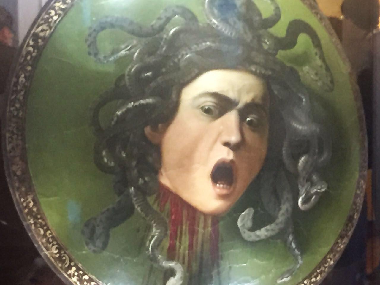 Uffizi Gallery in Florence - Medusa Caravaggio