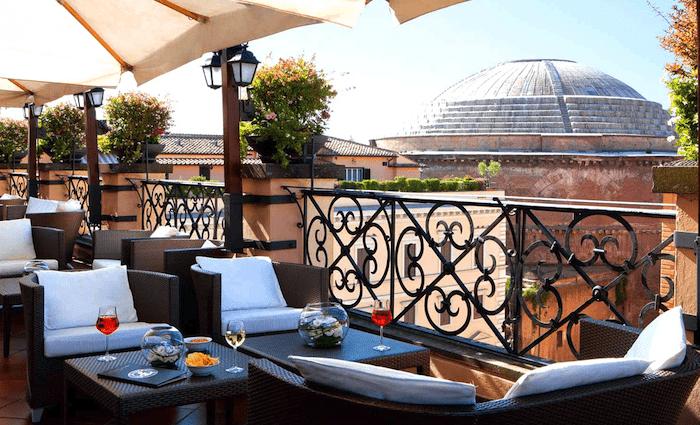 Minerve Rooftop Rome