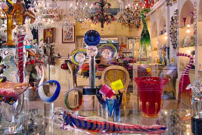 Getting to Murano to see the glass factories