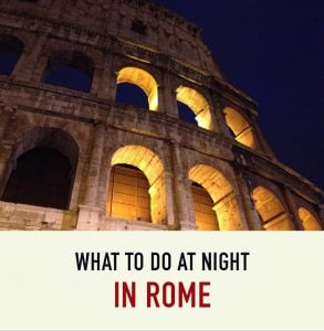 Night in Rome