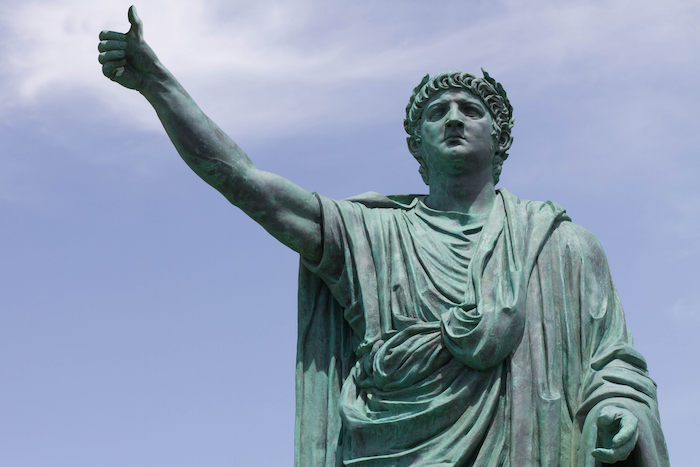 who caused the great fire of rome
