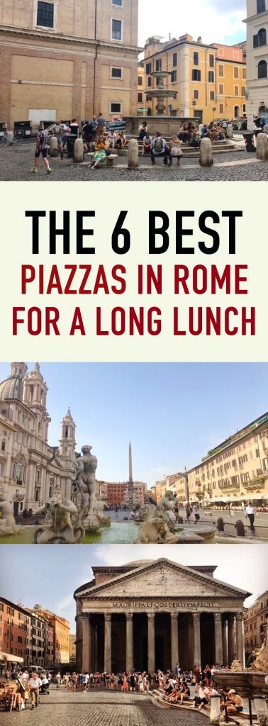 Best piazzas in Rome