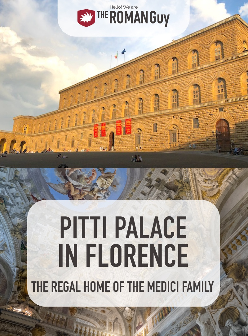 Pitti Palace Florence Pinterest